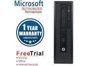 Refurbished HP EliteDesk 800G2 SFF Intel Core I5 6500 3.2G / 8G DDR4 / 1TB / DVD / Windows 10 Professional 64 Bits