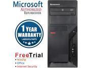 Lenovo Desktop Computer ThinkCentre M58P-TW Core 2 Duo E8400 (3.00 GHz) 4 GB DDR3 160 GB HDD Windows 10 Pro