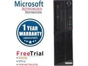 Lenovo Desktop Computer ThinkCentre M73 Intel Core i5 4th Gen 4430 (3.00 GHz) 16 GB DDR3 2 TB HDD Windows 10 Pro