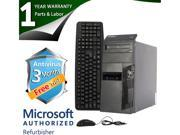 Lenovo Desktop Computer M90P Intel Core i5 1st Gen 650 (3.20 GHz) 4 GB DDR3 500 GB HDD Windows 7 Professional 64-Bit