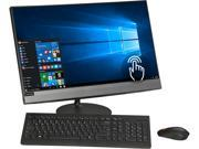 "Lenovo 520-24ICB 23.8"" Touch-Screen All-In-One Intel Core i5 8GB Memory 2TB Hard Drive Black F0DJ006VUS"