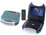 Image of Craig CTFT750ZB Portable DVD Player With Remote Control