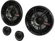 "Crunch CS65C 300W 6.5"" 2-Way CS Series Shallow Mount Component Car Speaker System"