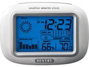 Sentry Big Screen Weather Alarm Clock CL933
