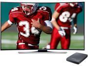 "Samsung UN65HU8700 65"" Class 4K Ultra HD Curved LED TV w/ UHD Video Pack Bundle"