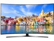 Samsung UN49KU7500FXZA 49-Inch 2160p 4K UHD Smart Curved LED TV - Black (2016)