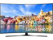 Samsung UN43KU7500FXZA 43-Inch 2160p 4K UHD Smart Curved LED TV - Black (2016)