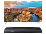"Samsung 9 Series 55"""" 4K BNDL UN55KS9000 LED SUHD TV ANDMNTRUBDK8500 UHD BLU RAY PLAYER"" 9B-89-356-252"