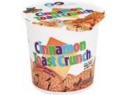 General Mills SN13897 Cinnamon Toast Crunch Cereal, Single-Serve 2.0 oz Cup, 6/Pack 9SIA86E4MS3406