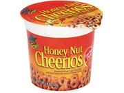 General Mills SN13898 Honey Nut Cheerios Cereal, Single-Serve 1.8 oz Cup, 6/Pack 9SIV01A2H63386