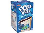 Kellogg's 31032 Pop Tarts, Blueberry, 6/Box