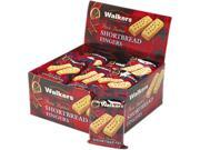 Office Snax W-116 Walker's Shortbread Cookies, 2/Pack, 24 Packs/Box