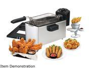 Elite 3.5Qt. Deep Fryer with Thermostat