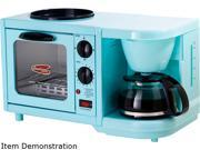 Elite EBK 200BL Blue 3 in 1 Multifunction Breakfast Center