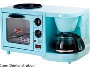 Image of Elite EBK-200BL Blue 3-in-1 Multifunction Breakfast Center