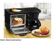 Elite EBK 200B Black 3 in 1 Multifunction Breakfast Center