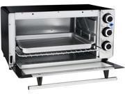 Elite ETO 140C White 2 Slice Toaster Oven with 15 Minute Timer White