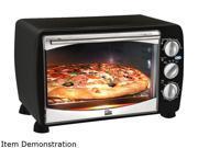 Maxi Matic Elite ETO 180B Black Elite Platinum 6 Slice 0.64Cu. Ft. Toaster Oven Broiler