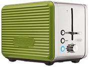 Bella 14174 Green Linea Collection 2-Slice Toaster