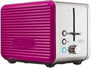 Image of Bella 14175 Linea Collection 2-Slice Toaster, Pink