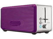 Bella 14090 Purple Linea 4 Slice Toaster Purple