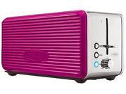 Image of Bella 14171 Pink Linea 4 Slice Toaster Pink