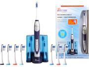 Pursonic S500 DELUXE High Power Sonic Toothbrush Silver