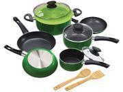 Ecolution EEGN-1212 Elements Cookware Set Green