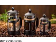 Ovente FPT12B Black 12oz French Press Coffee Maker 9SIAD2459Z7233