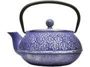 Primula PCI-4340 Blue Cast Iron 40 oz. Teapot