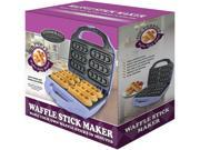 Smart Planet WSM1 Silver Waffle Stick Maker