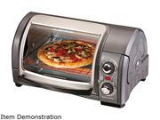 Hamilton Beach 31334 Easy Reach 4-Slice Toaster Oven