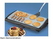 Hamilton Beach 38518 Family Size Griddle with Durathon Ceramic Nonstick