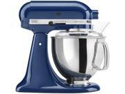 KitchenAid KSM150PSBW Artisan Stand Mixer with Pouring Shield 5 Quarts Blue Willow