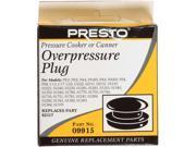 PRESTO 09915 Overpressure Plug for Pressure Cooker Pressure Canner
