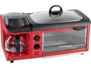 Nostalgia Electrics  BSET300RETRORED  Red  Specialty Appliance 9SIV16A66W5031