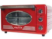 Nostalgia Electrics RTOV220RETRORED Retro Series Toaster Oven
