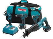 Makita LXT407 4pc. Combo Kit