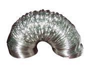 """Deflecto FLXC0408 4"""" Dia 2-ply 8 Ft. Aluminum Ducting"""