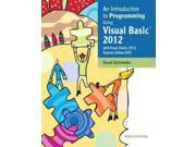 An Introduction to Programming Using Visual Basic 2012 9 PAP/DVDR Schneider, David I.