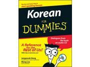 Korean for Dummies For Dummies PAP/COM BL Hong, Jungwook/ Lee, Wang-Chien (Translator)