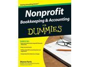 Nonprofit Bookkeeping & Accounting for Dummies Wiley Finance