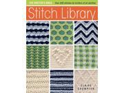 The Knitter's Bible Stitch Library 1 Crompton, Claire