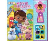 Disney Doc Mcstuffins Movie Theater Storybook + Movie Projector Movie Theater HAR/TOY Disney Doc Mcstuffins (Corporate Author)