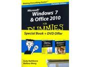 Microsoft Windows 7 & Office 2010 for Dummies PAP/DVD Rathbone, Andy/ Wang, Wallace