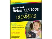 Canon EOS Rebel T3 / 1100D For Dummies For Dummies (Computer/Tech)