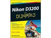 Nikon D3200 for Dummies For Dummies King, Julie Adair