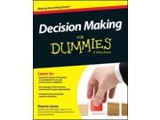 Decision-Making for Dummies For Dummies 9SIA9UT3YD0345