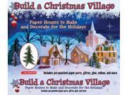 Build a Christmas Village Easy Papercraft BOX NOV