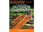 The Complete Guide to Outdoor Carpentry Black & Decker 2 9SIA9UT3YM7114